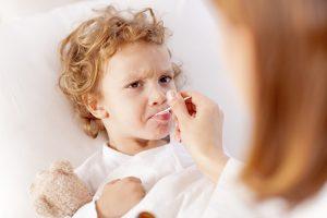 enfant et antibiotique